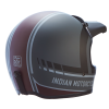 Adventure Helmet with Matte Stripe, Gray/Red  - Image 4 of 15