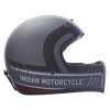 Adventure Helmet with Matte Stripe, Gray/Red  - Image 7 of 15