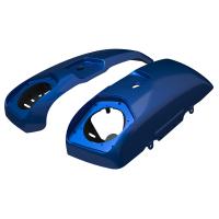 PowerBand Audio Saddlebag Speaker Lids - Radar Blue