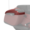 PowerBand Audio Saddlebag Speaker Lids in Ruby Smoke, Pair - Image 4 of 4