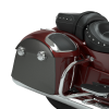 PowerBand Audio Classic Saddlebag Speaker Lids - Burgundy Metallic over Titanium Metallic - Image 3 of 4