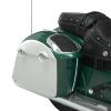 PowerBand Audio Classic Saddlebag Speaker Lids - Metallic Jade over Pearl White - Image 3 of 4