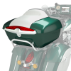 Quick-Release Lockable Trunk with Taillight, Metallic Jade over Pearl White - Image 3 of 3