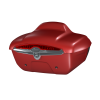 Quick-Release Lockable Trunk with Taillight, Ruby Smoke - Image 1 of 3