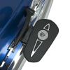 Headdress Passenger Floorboard Pads - Chrome - Image 2 of 4