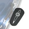 Headdress Passenger Floorboard Pads - Chrome - Image 3 of 4