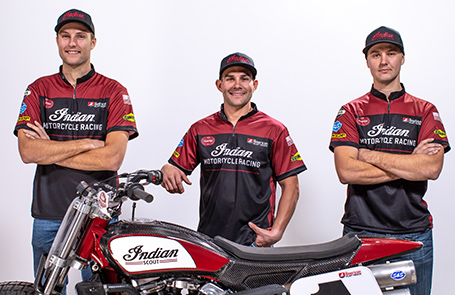 Indian Motorcycle Racing Announces 2019 American Flat Track Factory Team