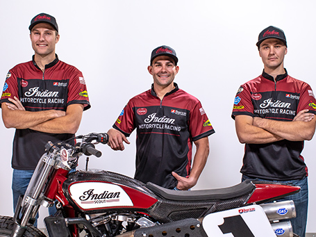 Indian Motorcycle Racing 2019 Team