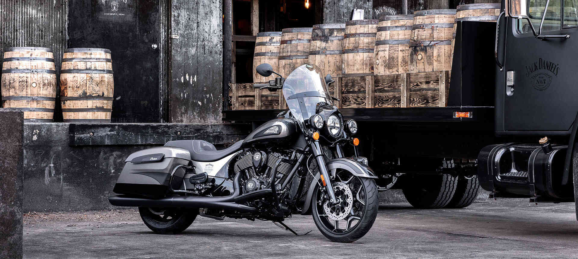 2019 Jack Daniel's Limited Edition Indian Springfield Dark Horse