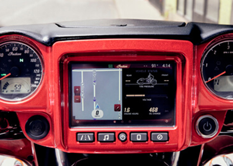 Indian Ride Command Navigation