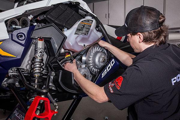 POLARIS ENGINEERED PARTS AND LUBRICANTS FOR YOUR SLED