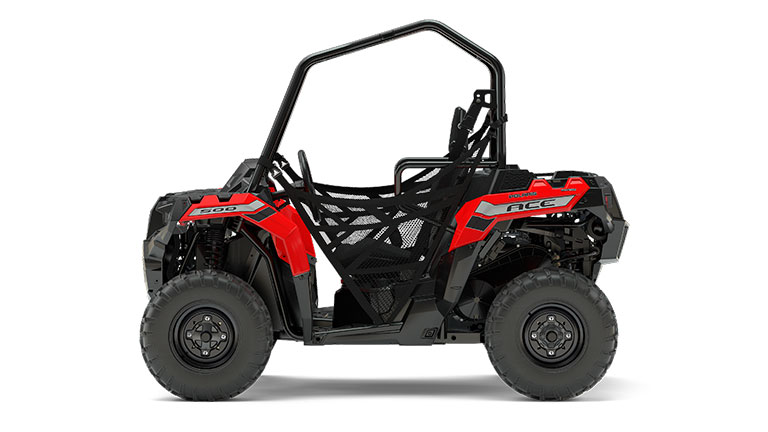 POLARIS ACE® 500 INDY RED