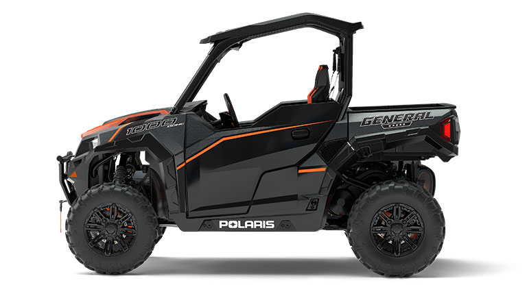 POLARIS GENERAL™ 1000 EPS DELUXE TITANIUM MATTE METALLIC