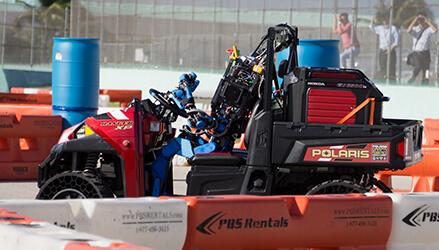 robots drive ranger