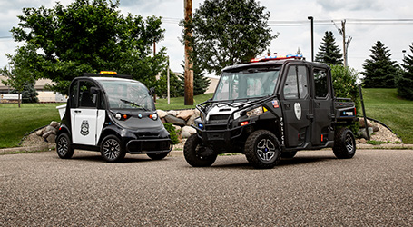 Polaris® Expands Its Public Safety Line to Include All-Electric GEM® Vehicles