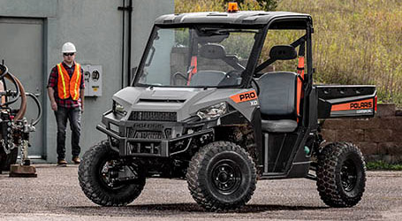 Polaris<sup>®</sup> Launches Industry-Leading Work Utility Vehicle: PRO XD<sup>™</sup>