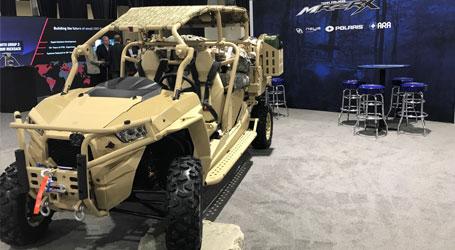 Polaris Government & Defense: Military Vehicles - LTATVs
