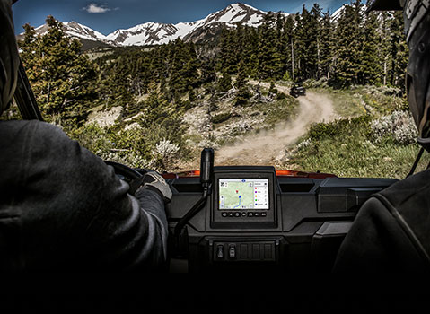 RIDE COMMAND: UTV with Touch Screen & GPS System   Polaris