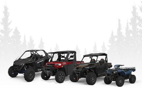 Polaris Off-Road Vehicles (ORV): SxS, UTVs, ATVs & Four Wheelers