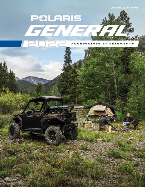 2022 Polaris General Accessories & Apparel Catalog