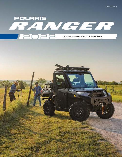 2022 Polaris Ranger Accessories & Apparel Catalog