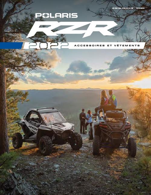 2022 Polaris RZR Accessories & Apparel Catalog