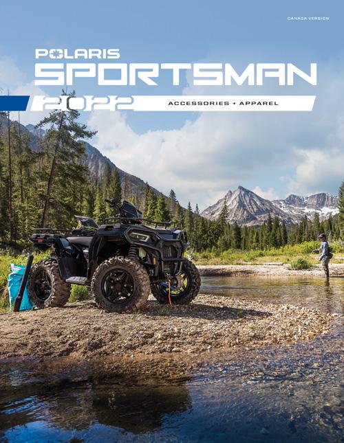 2022 Polaris Sportsman Accessories & Apparel Catalog
