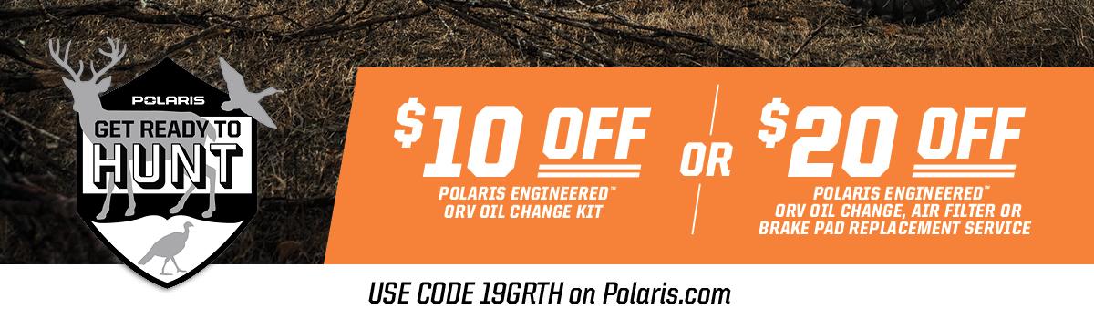 Polaris Sportsman Maintenance Products | Official Polaris