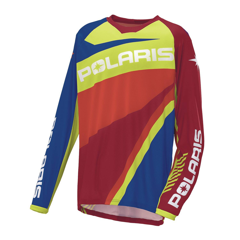 2XL Polaris Off-Road Riding Jersey Blue