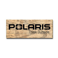 Polaris Wood Sign 10.5 x 24