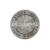 "Polaris Round Aluminum Sign 22"" - Image 1 of 1"