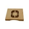 Polaris Wooden Coasters - Image 2 of 2