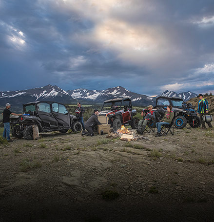 Family UTV or ATV campsites & vacations | Polaris Off-Road