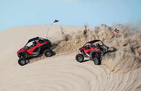 How to Ride Side-by-Sides and ATVs in a Sand Dune
