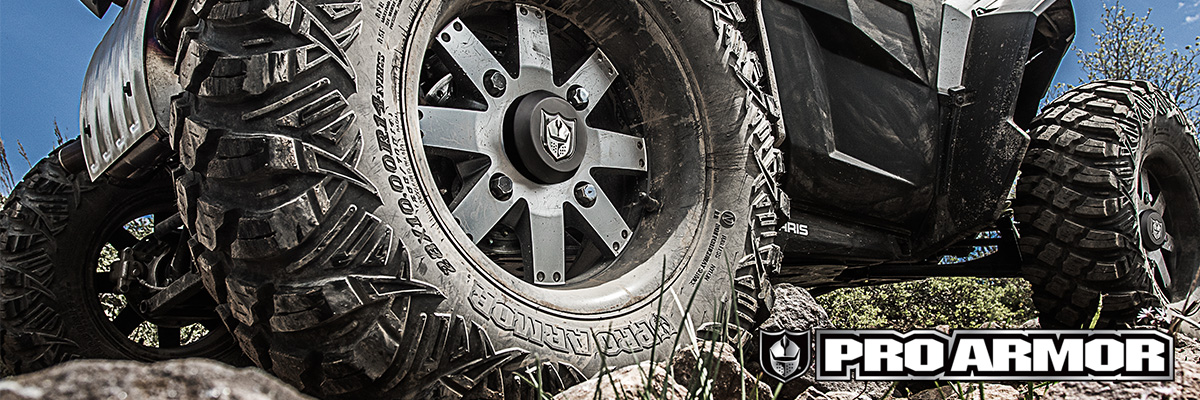 TIRES & WHEELS FOR ANY TERRAIN