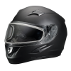 Blaze Adult Full-Face Helmet with Anti-Fog Flip Shield, Black Matte - Image 2 de 6