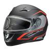Blaze Adult Full-Face Helmet with Anti-Fog Flip Shield, Red Matte - Image 2 de 6