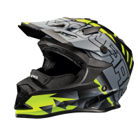 509® Altitude Adult Moto Helmet with Camera Mount, Lime