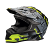 509® Altitude Adult Moto Helmet with Camera Mount, Lime - Image 1 of 4