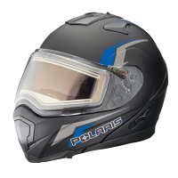 Modular 1.5 Helmet W/Electric Shield - Black/Blue