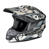 Tenacity Adult Moto Helmet with Removable Liner, Gray - Image 1 of 3