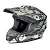 Tenacity Adult Moto Helmet with Removable Liner, Gray - Image 1 de 3