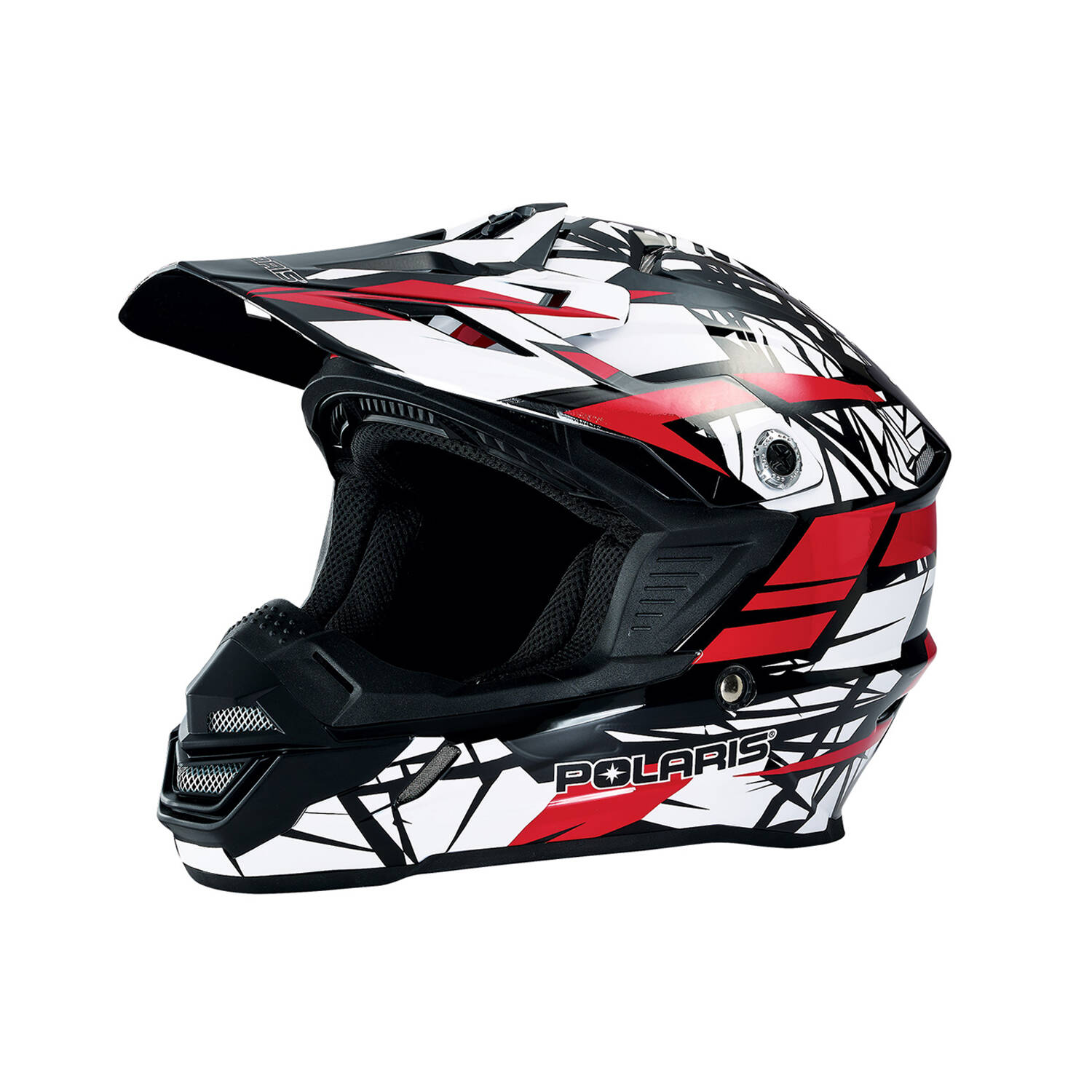 Tenacity Youth Moto Helmet with Removable Liner, Red