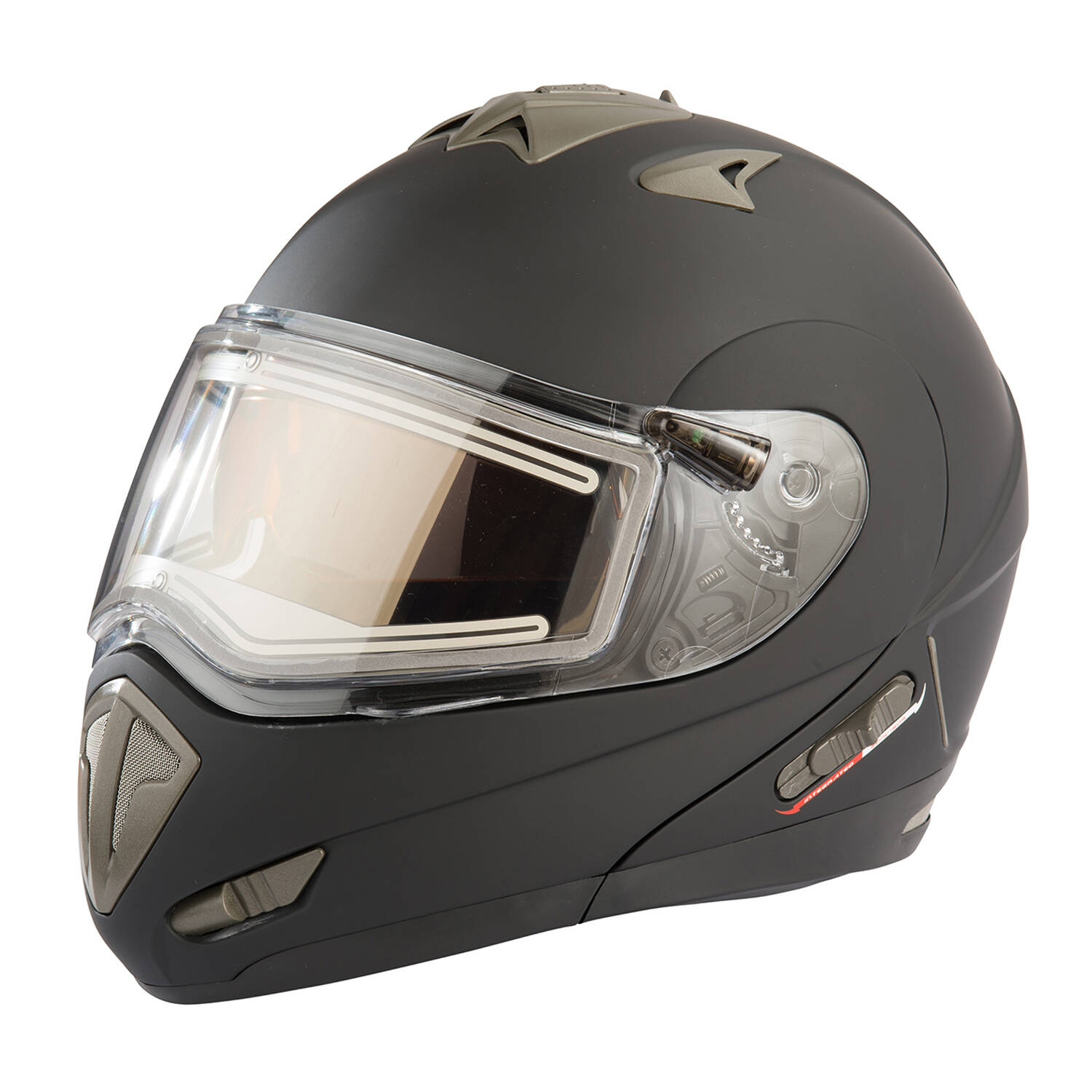 Modular 1.0 Adult Helmet with Electric Shield, Black