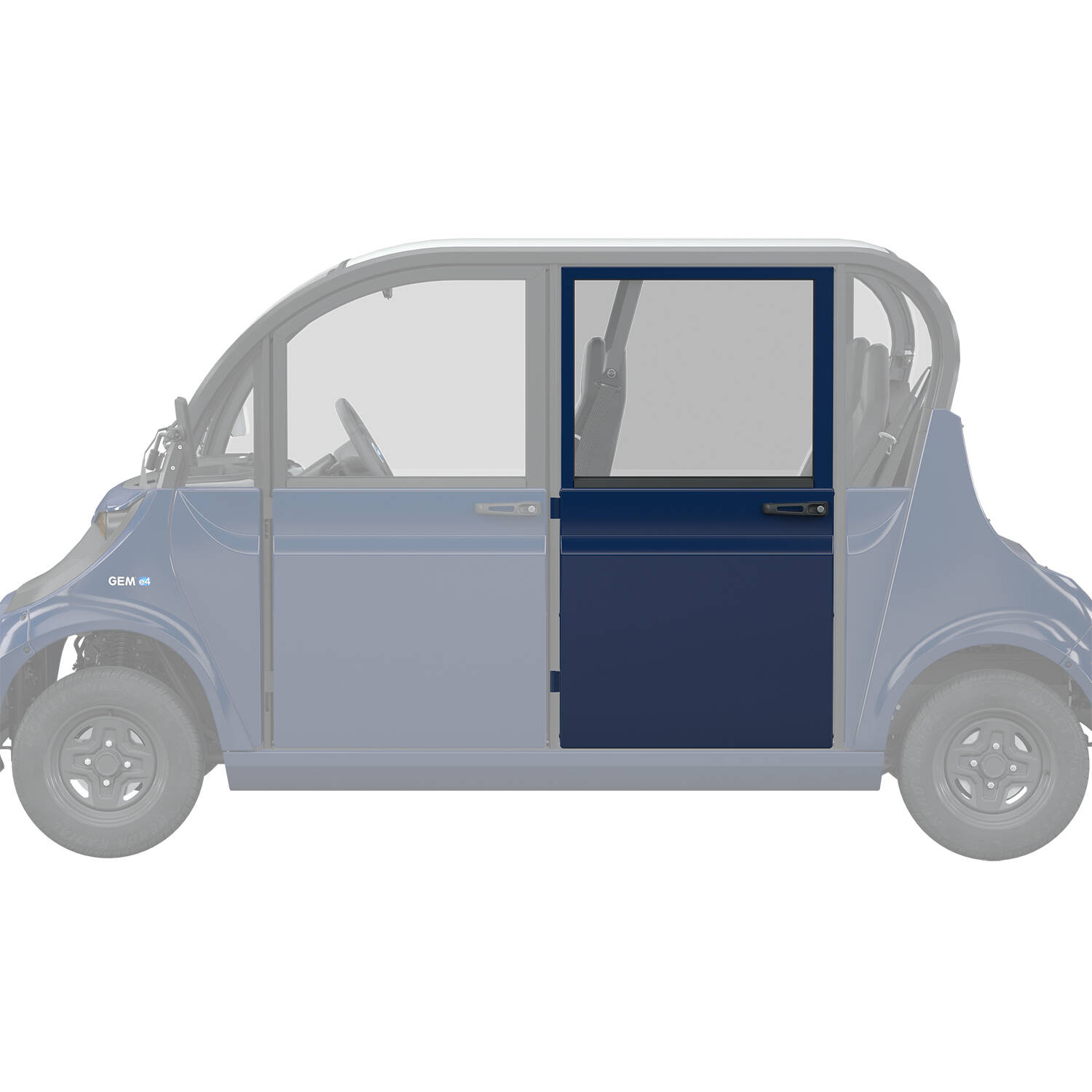 Full Middle/Rear Door, Blue