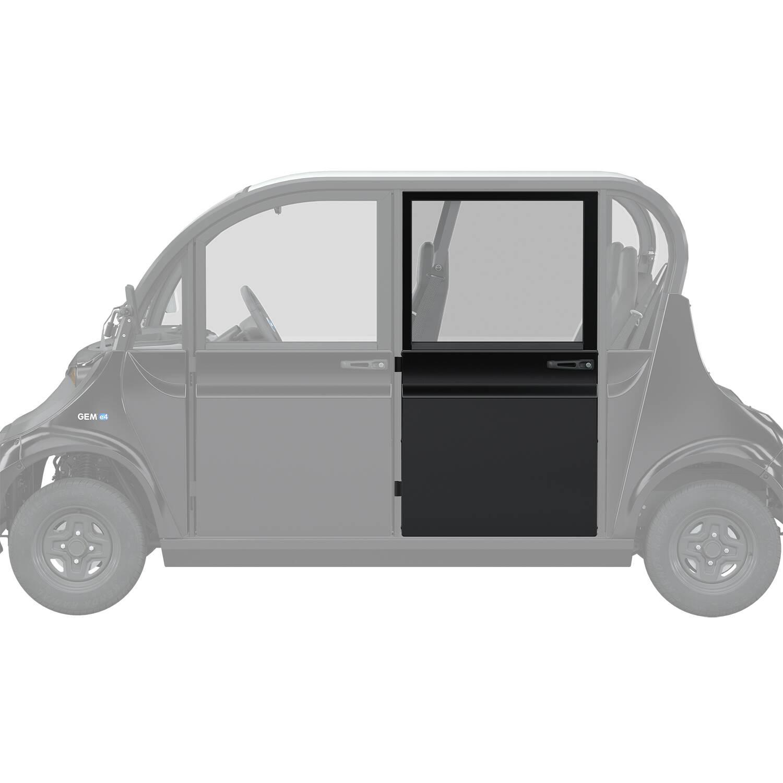 Full Middle/Rear Door Left, Black