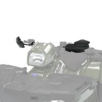 ATV Handguards in Black, 2 Pack