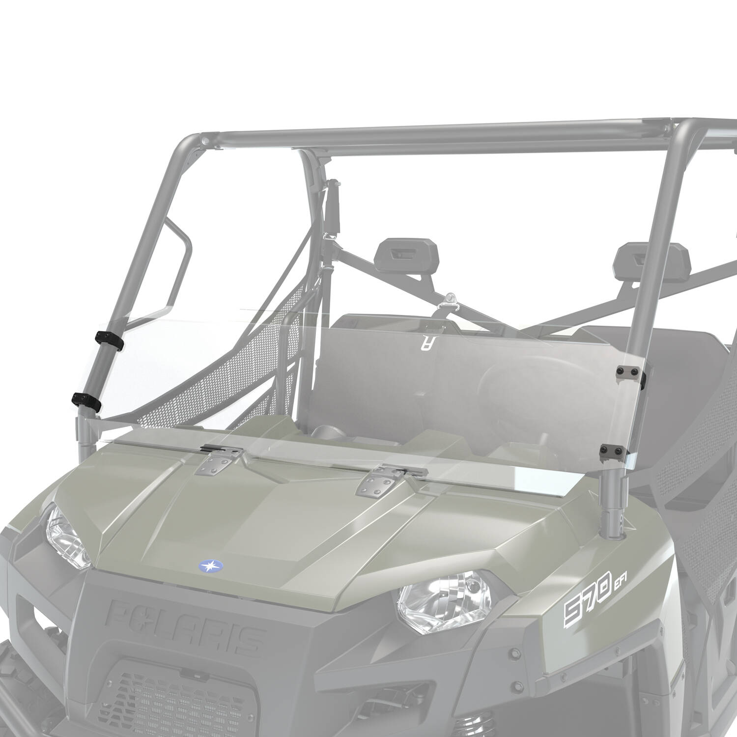 Hard Coat Poly Windshield