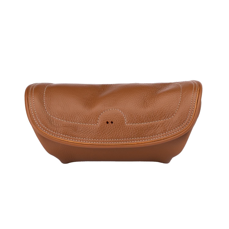 Genuine Leather Handlebar Bag - Desert Tan