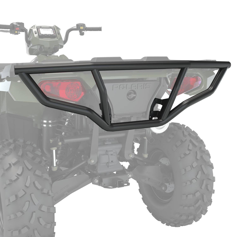 Steel Rear Brushguard, Black